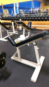 Ram Adjustable incline bench $200