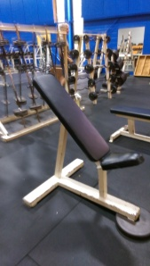 Ram Fixed incline utilty bench $150