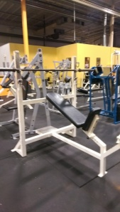 Ram Incline Olympic Bench Press $295