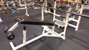 Ram Olympic Decline Bench Press $295