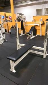 Ram Olympic Flat Bench $250