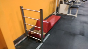 Sit Up board with Ladder $150